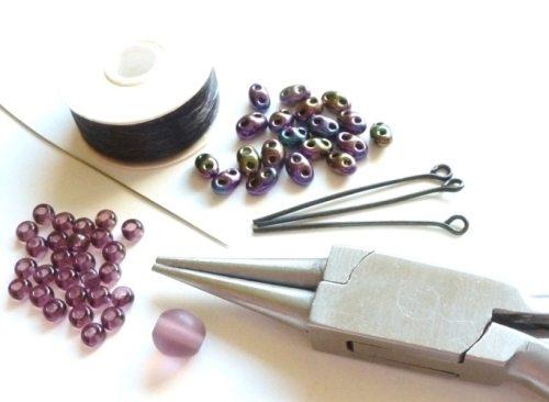 Материалы для создания бусины из бисера