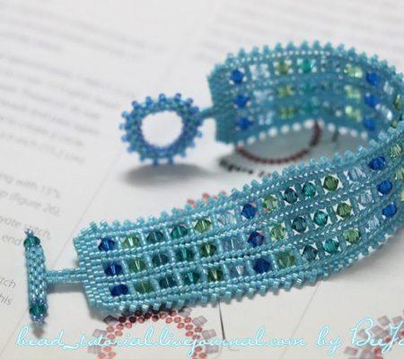 Плетеный браслет, мастер класс