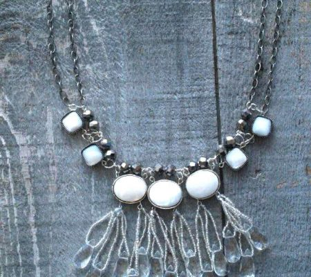 Ожерелье - Ледяные капельки