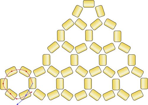 Схема плетения лучиков