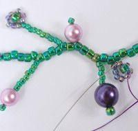 Ожерелье из бисера - мастер-класс