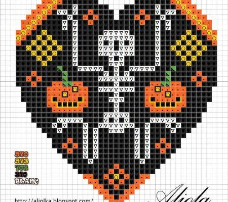 Поделки из бисера к Хеллоуину