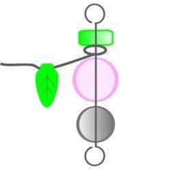 Феи из бисера и бусин: схема плетения 6