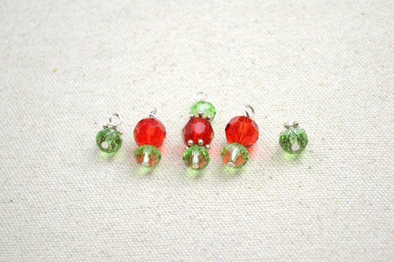 Ожерелье из бусин и проволоки: мастер-класс