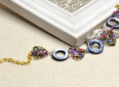 Бисерный браслет в стиле бохо