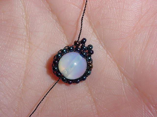 плетём ожерелье