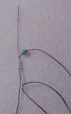 схема плетения спирального ожерелья из бисера 1