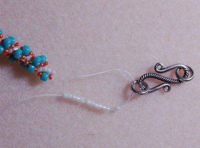 ожерелье из бисера 1