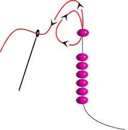 серьги из бисера схема плетения
