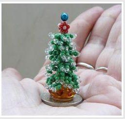 елка из бисера своими руками