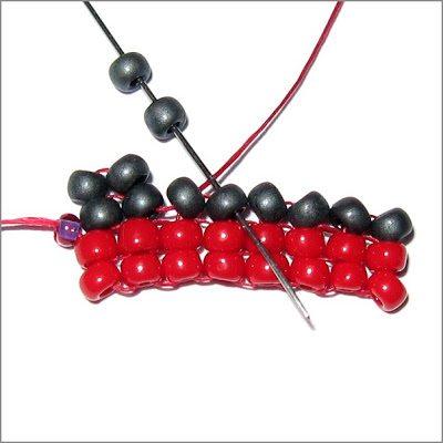 Техника плетения ндебеле