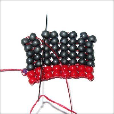 Плетение ндебеле - мастер-класс