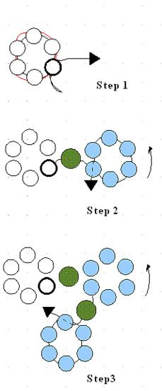 Схема плетения браслета для начинающих