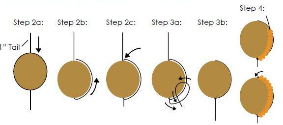 Тыквы из бисера - схема плетения