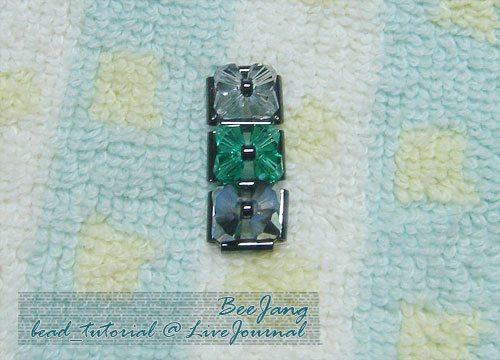 """Браслет из бисера """"Блоки"""": схема плетения"""