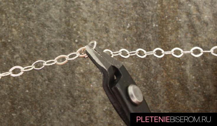 Простое ожерелье из бусин своими руками