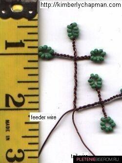 Как сделать осеннее дерево из бисера?