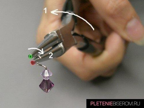 как работать с проволокой для бисера 11