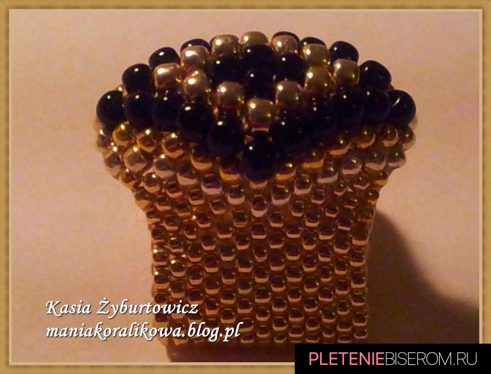 Перстень из бисера своими руками
