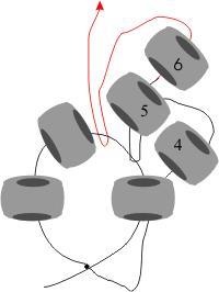 Плетение бисером по кругу 7