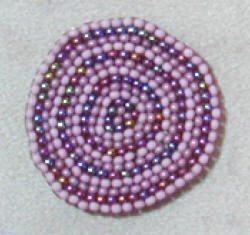 Круговое плетение бисером