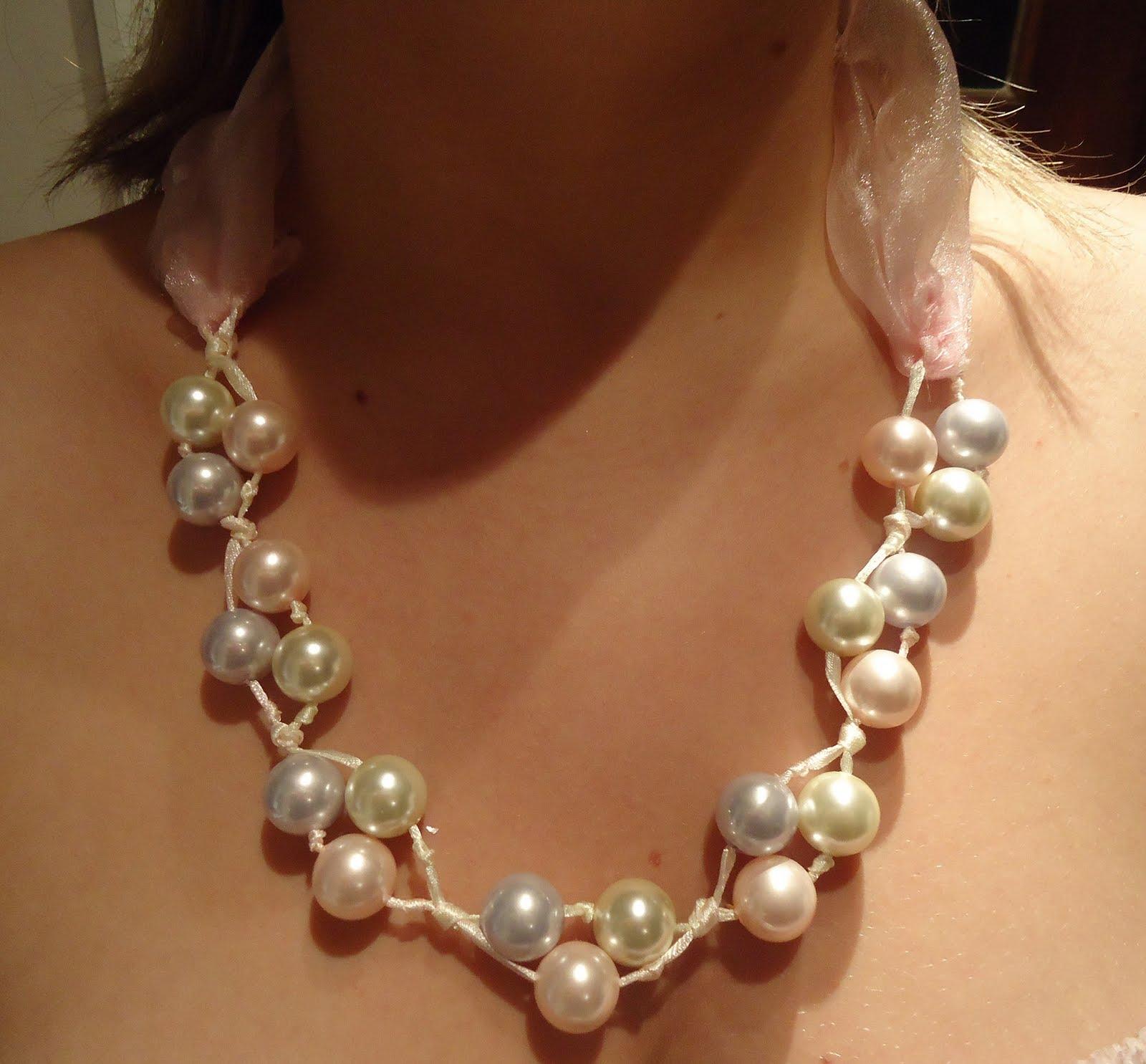 Ожерелье с бусинами своими руками фото 485