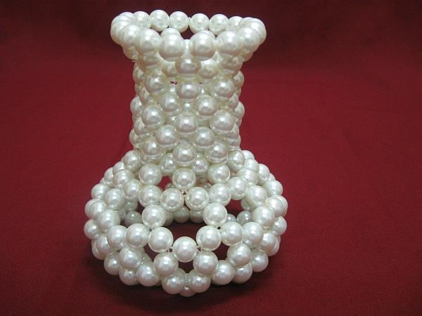 бисерная ваза