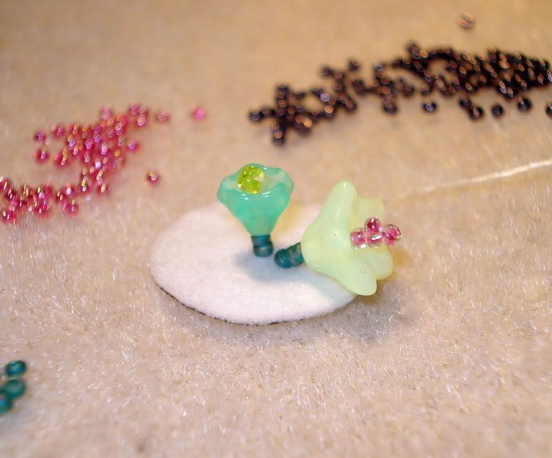 Вышитый браслет из бисера - материалы
