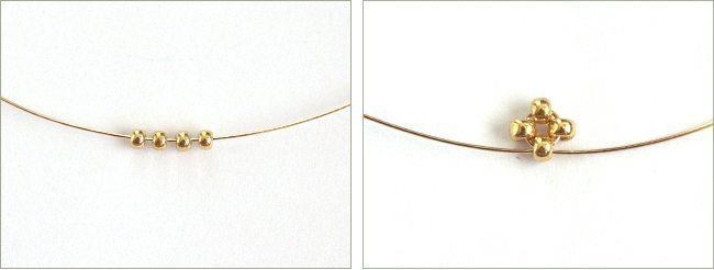 Процесс плетения длинных сережек