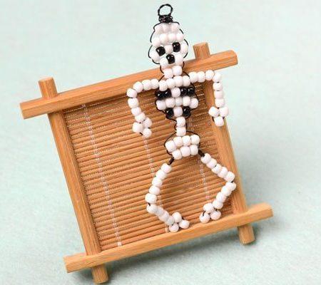 Скелет из бисера своими руками