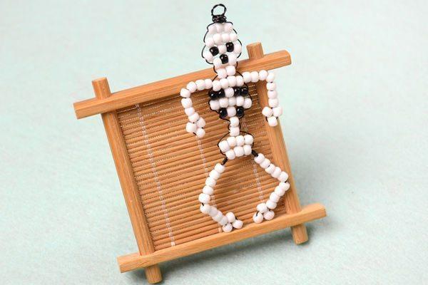 Скелет из проволоки своими руками фото 403