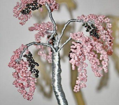 Плетение бисером деревьев