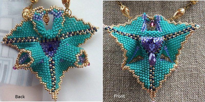 Плетение для начинающих - треугольник