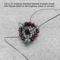Плетение из бисера – схемы для начинающих