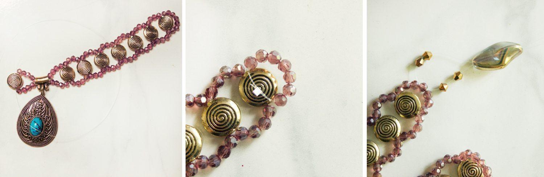 Ожерелье из бусин - мастер-класс