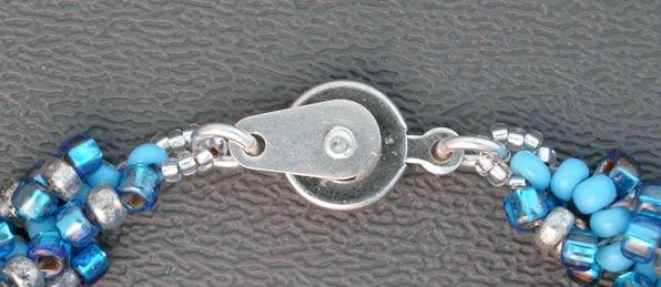 Браслет из бисера своими руками Спираль 10