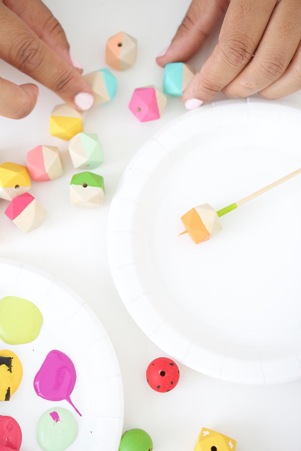 Как покрасить многогранники своими руками