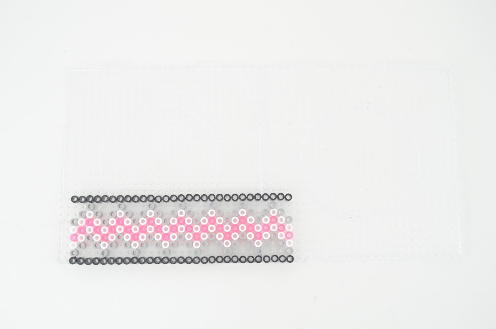 Ключница из perler beads-сделайте нижний узор