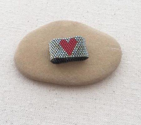 Кольцо для салфеток из бисера