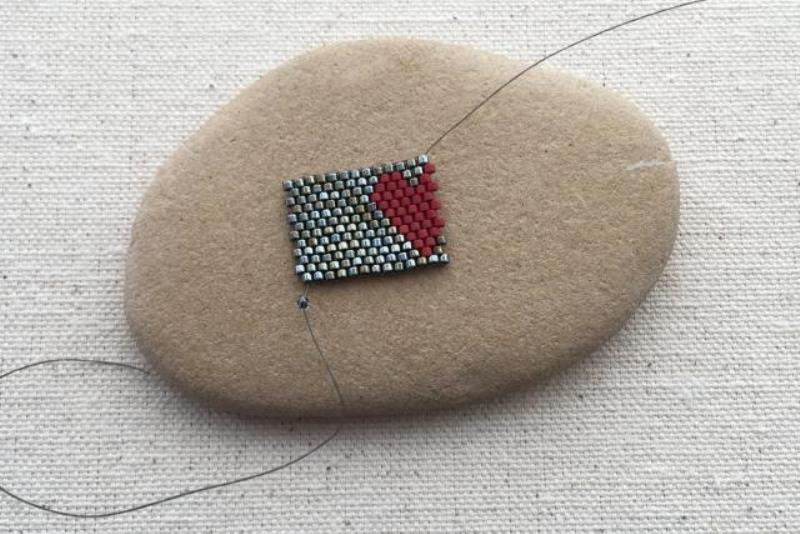 Кольцо для салфеток-ровняйте плетение