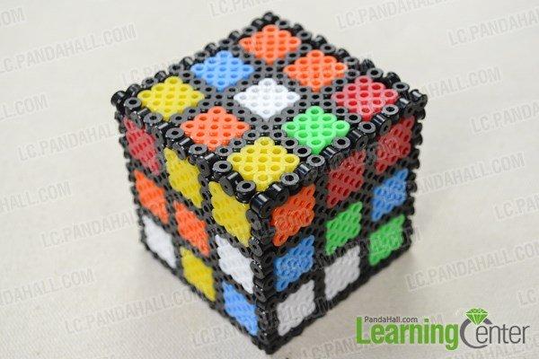 Как сделать кубик Рубика из бисера?