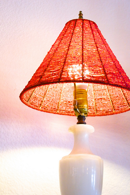 Бисерный светильник