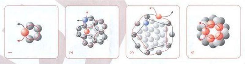 Колье с бусинами из бисера-схема
