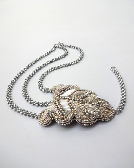 Ожерелье своими руками: плетение бусин из жемчуга 99