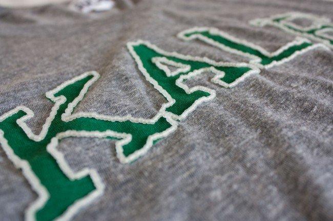 Вышивка бисером на футболке своими руками