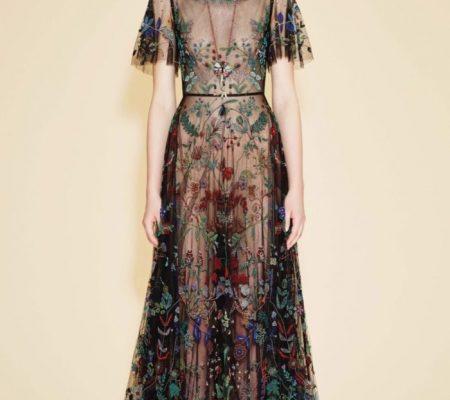 Платье из бисера от Valentino Garavani