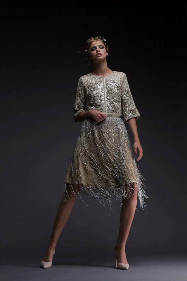 Бисерное платье от израильского дизайнера Chana Marelus