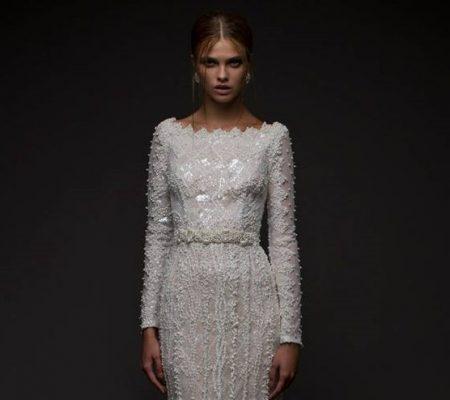 Дизайнерское платье из бисера