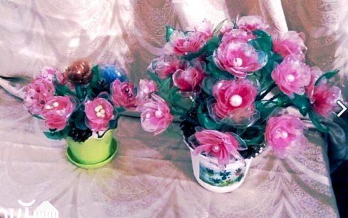 Цветы из бисера от мастера Назгуль Осмоналиевой