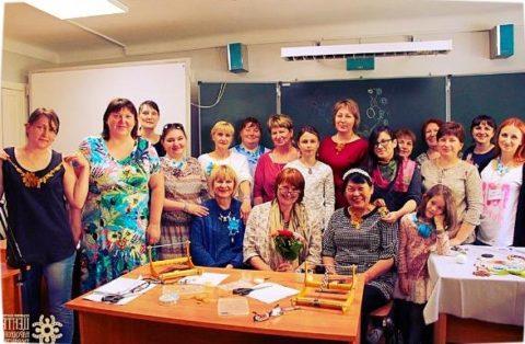 Выездные мастер-классы по бисероплетению от Марии Шумаковой